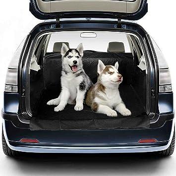 Migimi Funda Impermeable para Mascotas, Impermeable Manta Funda para Perro Asiento Cubre Coche Car Cubierta