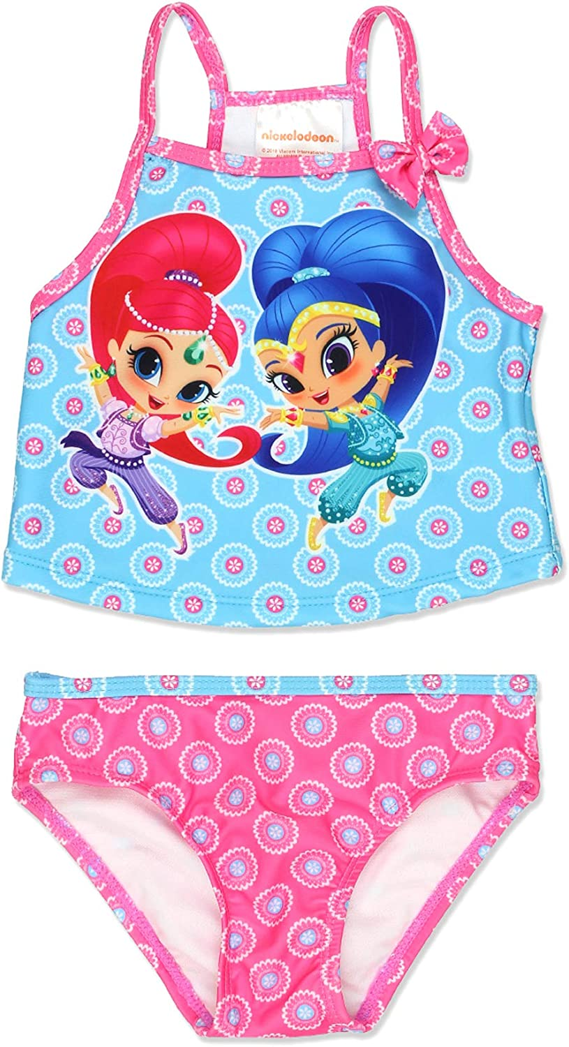Shimmer And Shine Official Gift Girls Kids Swim Suit Costume