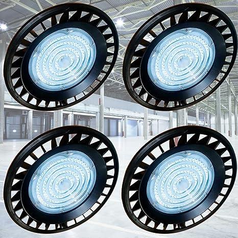 200 Watts UFO LED Light High Bay 6500K Warehouse Industrial Lighting AC 220-240V