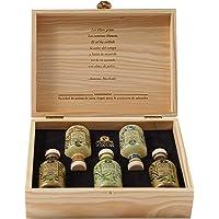 Caja de madera Colección especial Campos de Sanaa