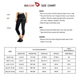 BALEAF Women's 3D Padded UPF 50+ 3/4 Cycling