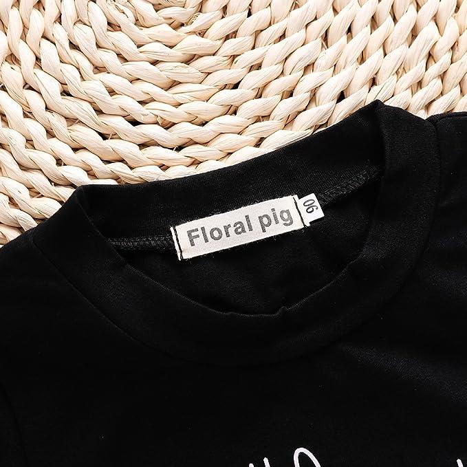 Amazon.com: bigbuyu 2018 moda bebé niño Niña ropa Outfit ...