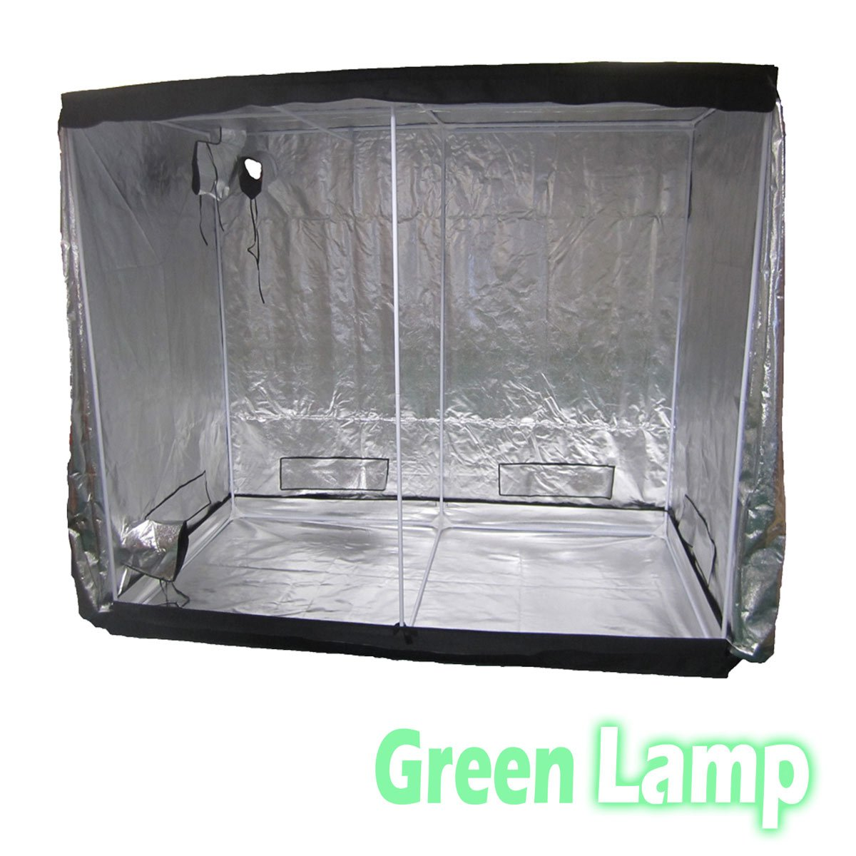 Green Lamp Premium 60 x 60 x 140cm 600D Mylar Indoor Grow Tent Box Hydroponics Dark Room