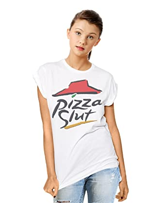 3c3929a5 Pizza Slut Funny Spoof Slogan Mens & Ladies Unisex Fit T-Shirt: Amazon.co.uk:  Clothing