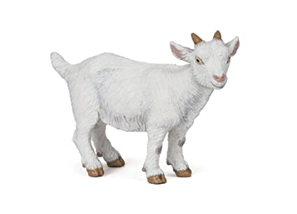 Papo 'White Kid Goat' Figure