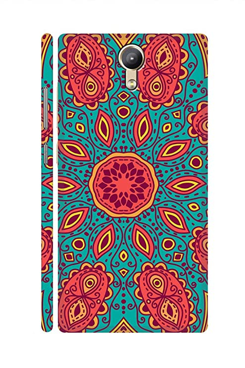 pretty nice 34023 e0ebf SRS Heart In Place 3D Back cover for Lenovo Phab 2: Amazon.in ...