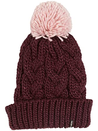 4bf61416 Billabong Styx Womens Beanie One Size Bordeaux at Amazon Women's Clothing  store: