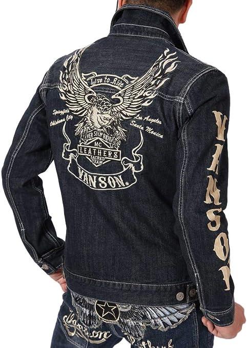 (バンソン) VANSON イーグル Gジャン NVSL-2102 デニムシャツ ジャケット 刺繍