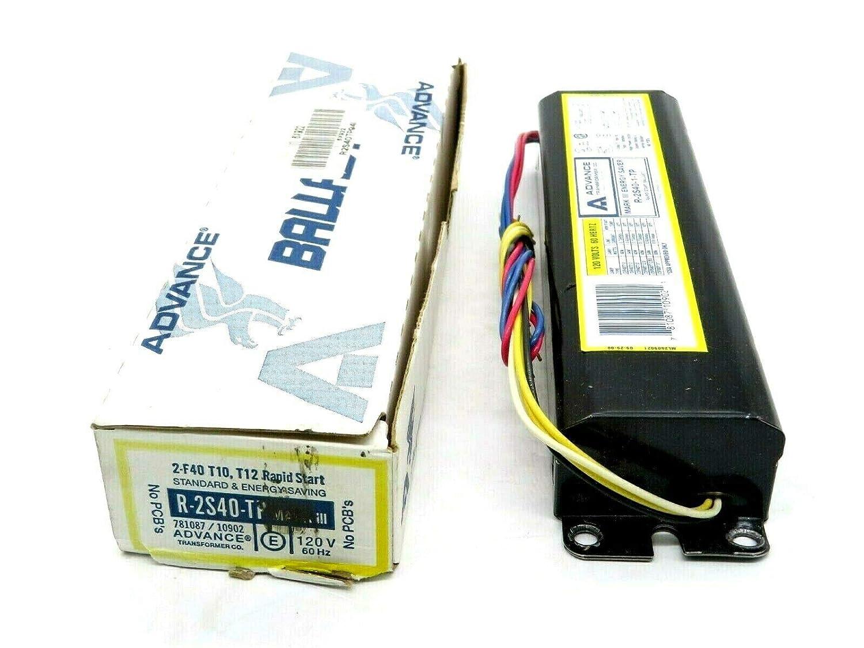 New ADVANCE BALLAST R-2S40-TP Ballast Rapid Start R-2S40-1-TP R2S40TP
