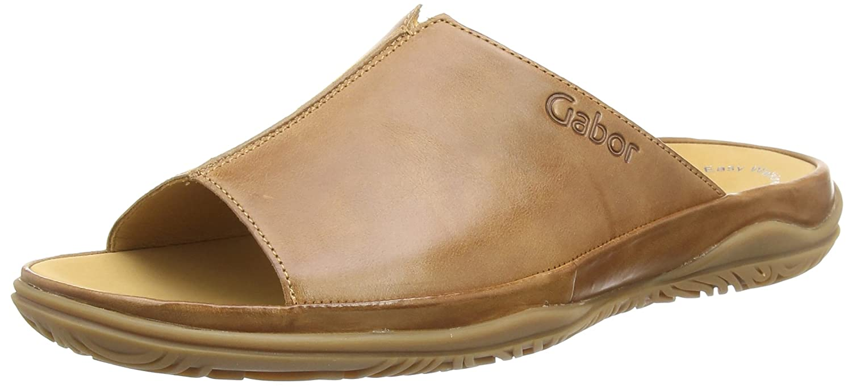 Gabor Shoes Comfort Sport, Mules para Mujer 37.5 EU|Marrón (Peanut)