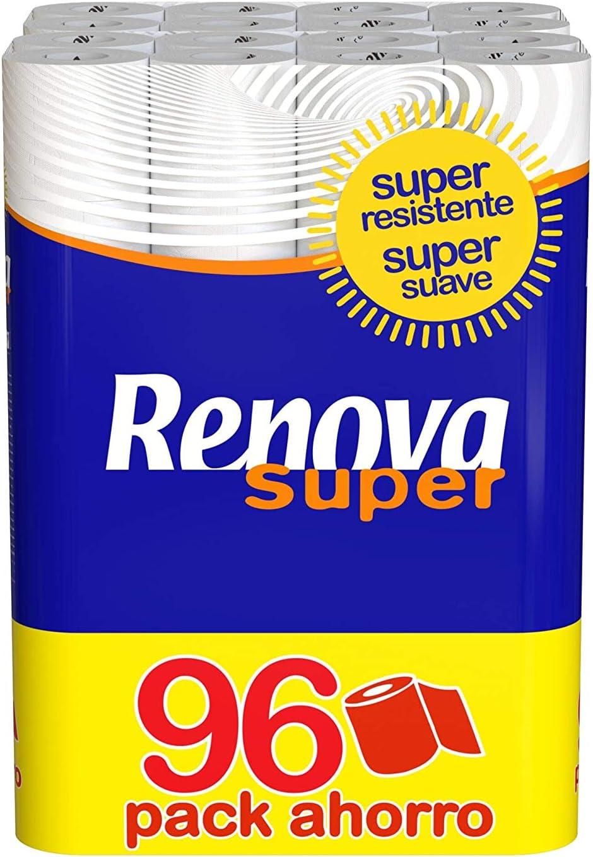 Renova Papel Higiénico Super - 96 Rollos