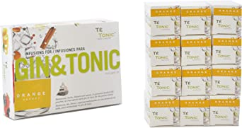 Te Tonic Experience amante de GIN Pack 24 infusiones - 1 sabor ...