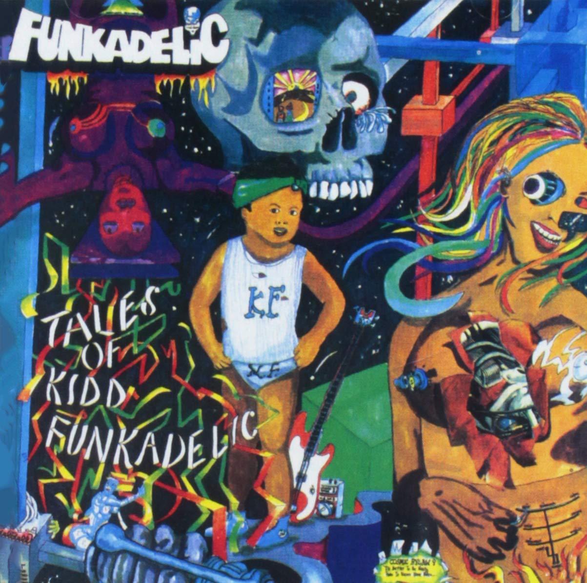 Large special price Tales of In stock Kidd Funkadelic