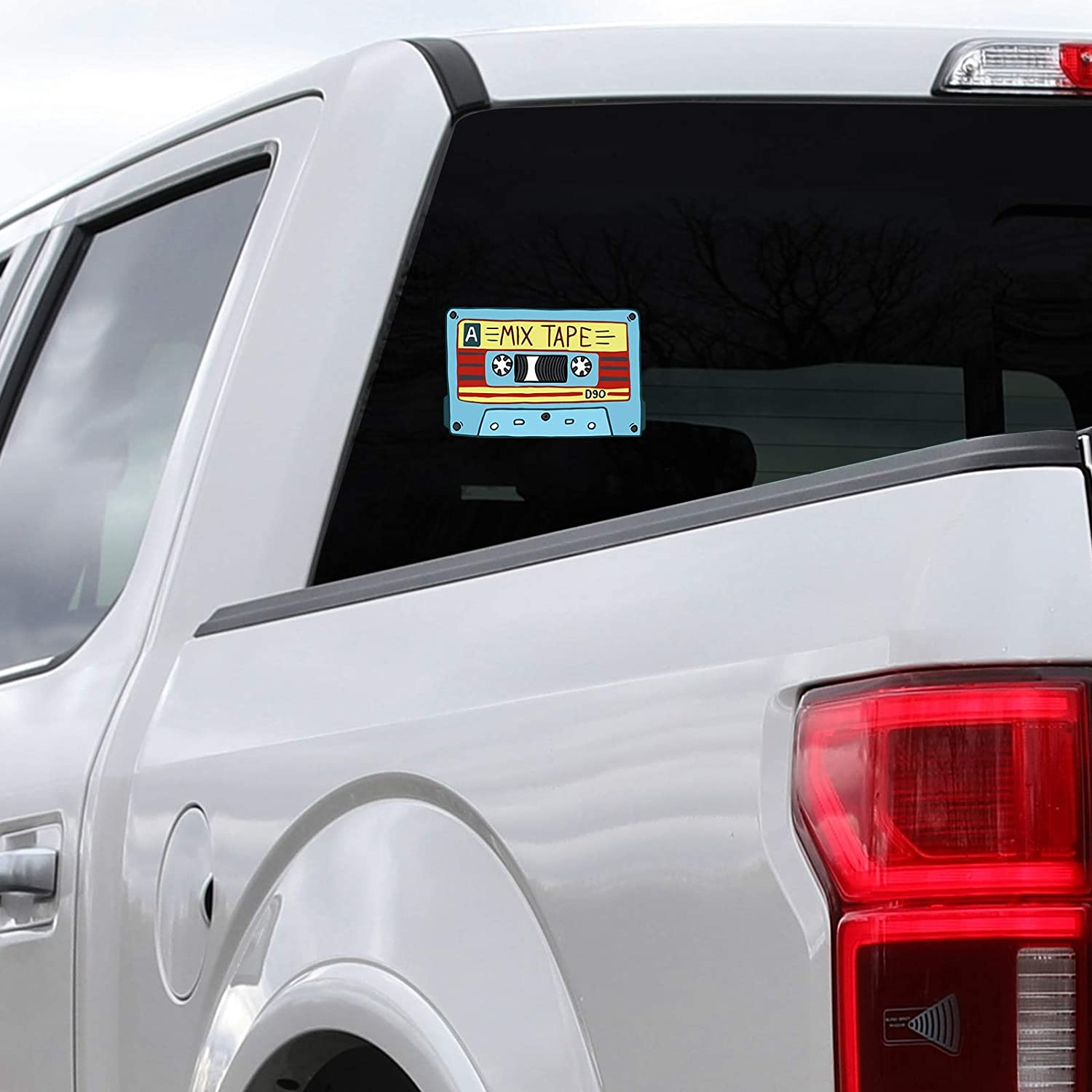 Unique Music Lovers Color Bargain Max Decals MAX-100470 Sticker Decal Notebook Car Laptop 5 x 3