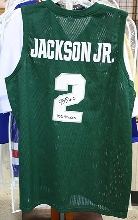 e726a1433a18 Jaren Jackson Jr. MSU State Spartans Signed Jersey with