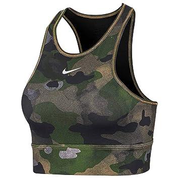 Nike Everything Camo Bra Sujetador Deportivo, Mujer: Amazon.es ...