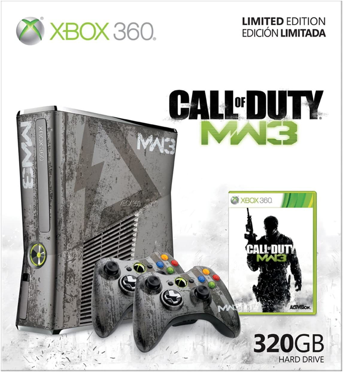 Microsoft Xbox 360 Limited Edition Call of Duty - juegos de PC ...