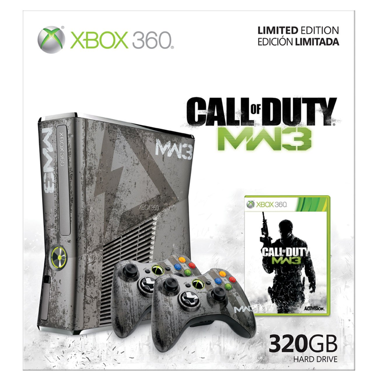 Amazon Com Xbox 360 Limited Edition Call Of Duty Modern Warfare