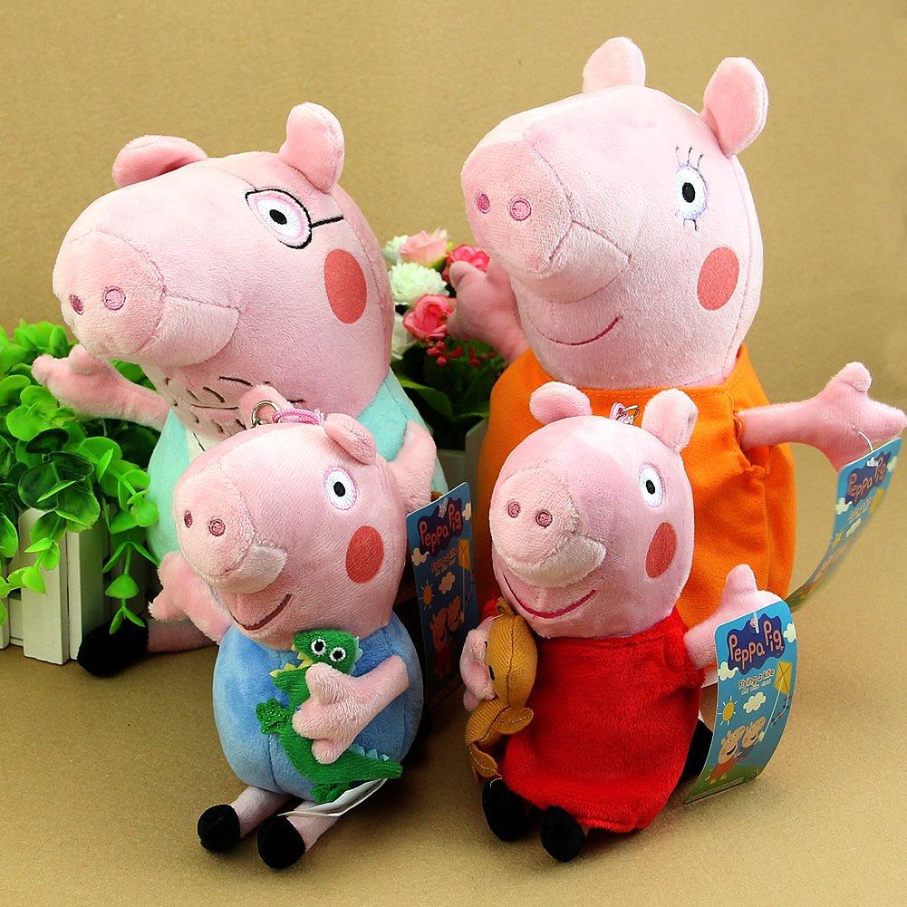 amazon com oliadesign piggy family plush set 4 pieces small