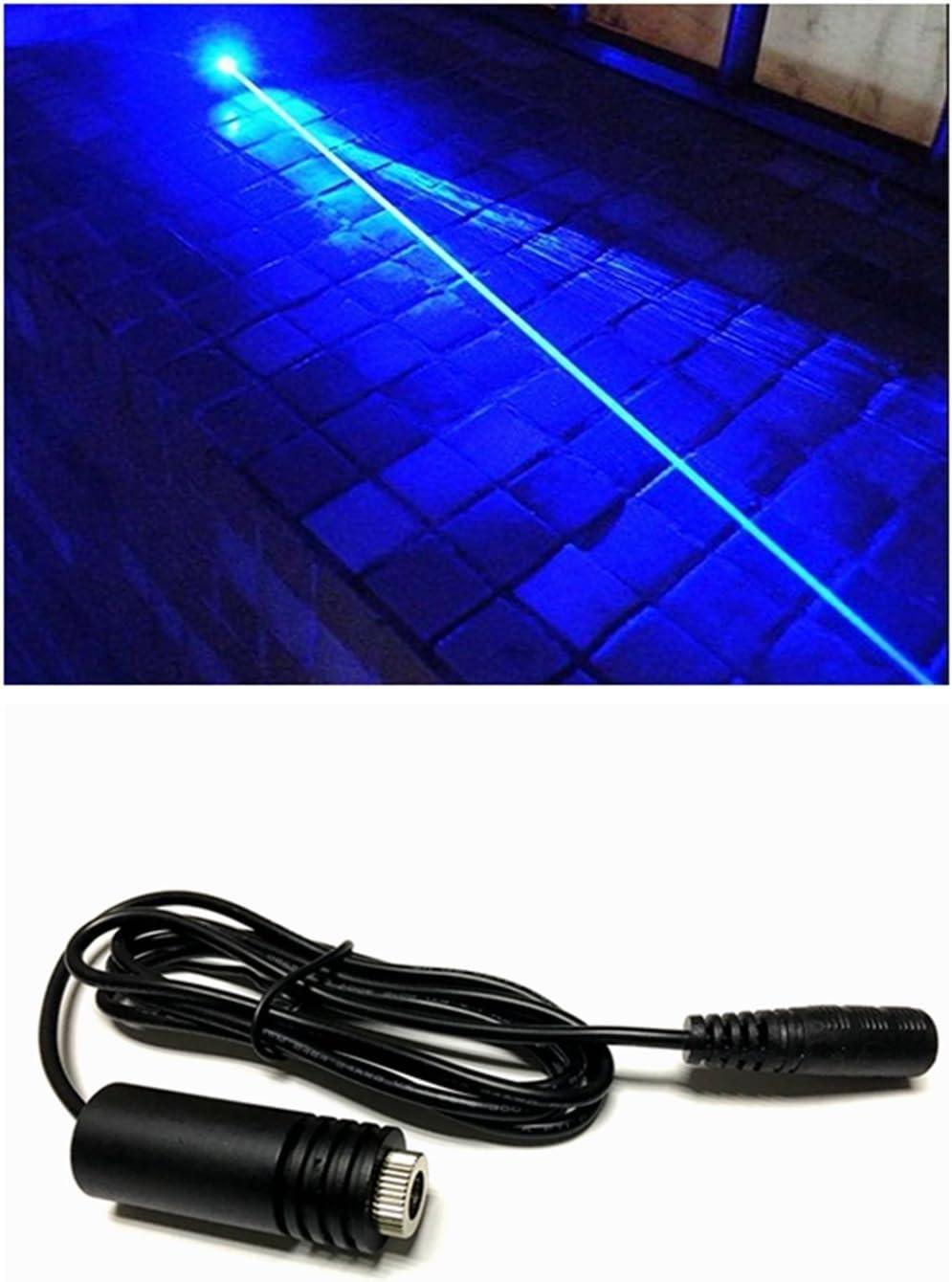 445-450nm Módulo azul del punto del diodo del laser del poder más elevado 1.6W 1600mw / 18x45mm & 6.7-7.5V