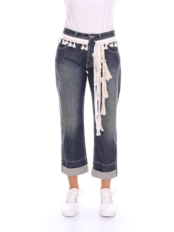 Loewe Women's D2182530IBblueE bluee Cotton Jeans
