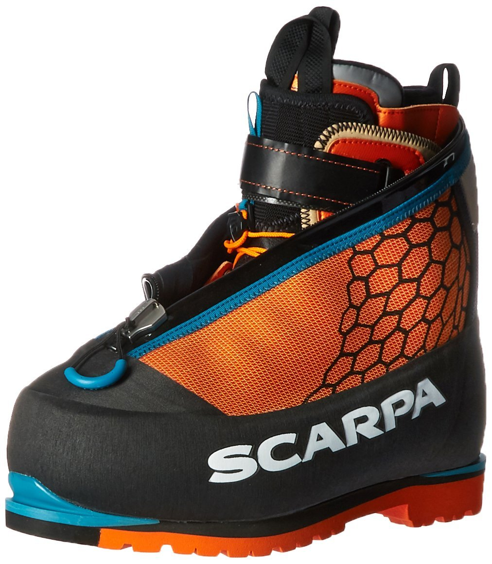 SCARPA Phantom 8000-U, Black/Orange, 45 EU/11.5 M US