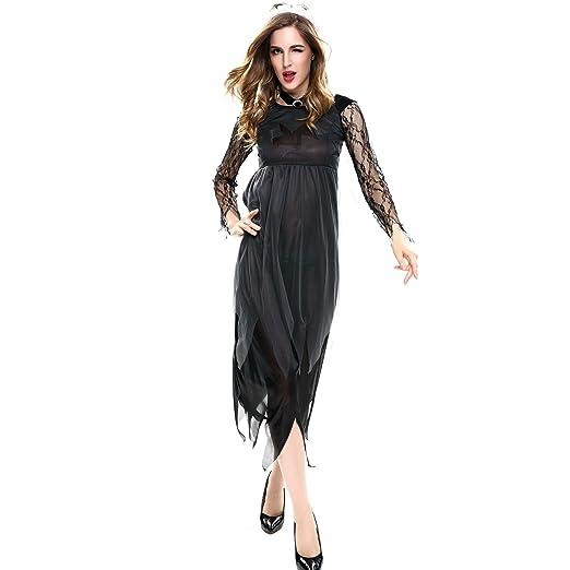 KXIN Señora Cosplay Sexy Vestido, Vampiro Demonio Novia Vestido ...