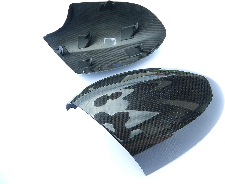 Cacsp Voll Carbon Spiegel Kappen Rückspiegel Außenspiegel Rückspiegel Spiegelkappen Replacements Mirror Kompatibel Mit Bmw M3 E92 E90 E93 1er E82 1erm Auto