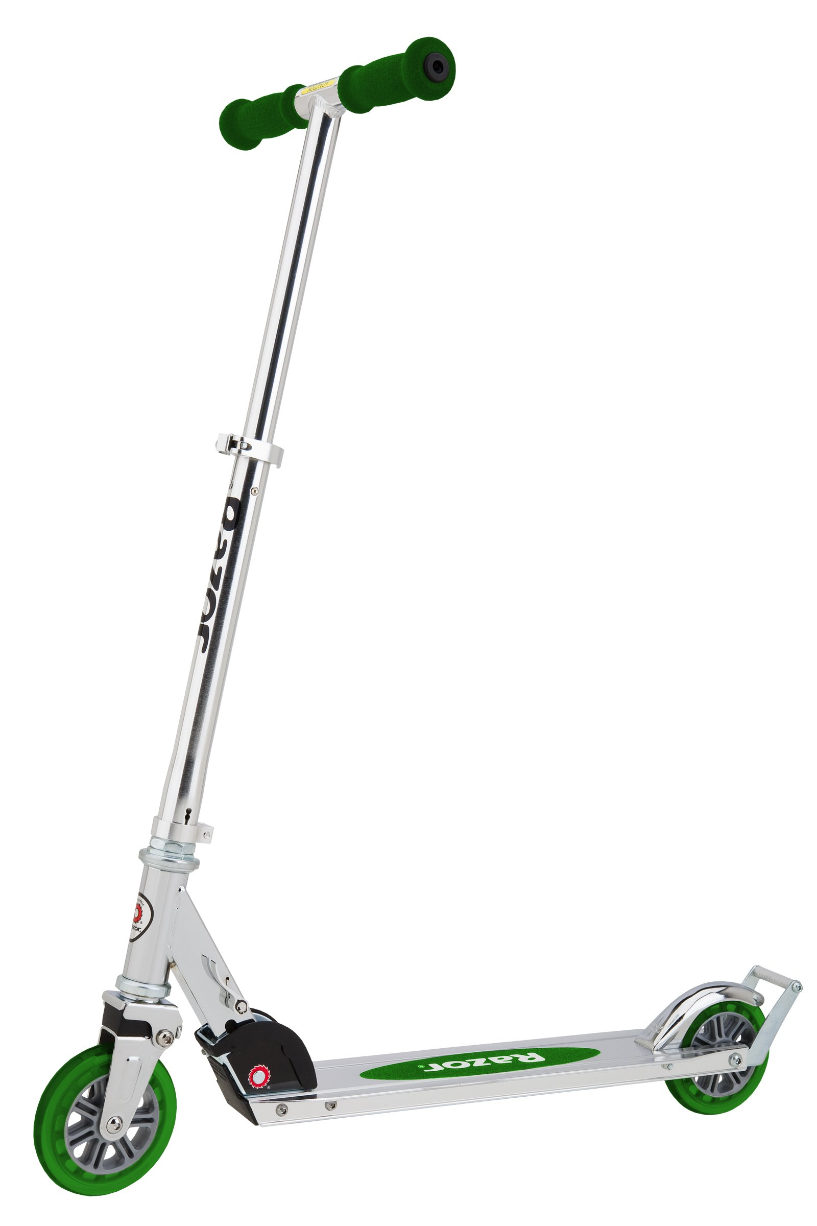 Razor A3 Kick Scooter, Green, Frustration Free Packaging