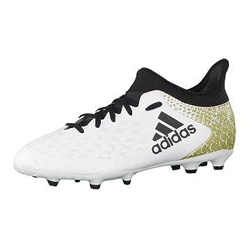 low priced 2553f 344ca adidas X 16.3 FG J, Botas de fútbol para Niños adidas Amazon.es Deportes  y aire libre