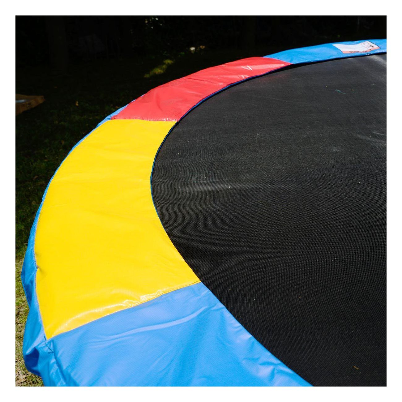 Multi Color Safety Pad Spring Round Frame Pad Cover Replacement 12FT Trampoline