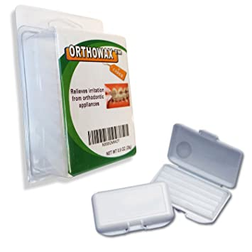Genuine Orthowax Our Bestseller Orthodontic Wax For Braces Wearer Stick Better Than Competitors
