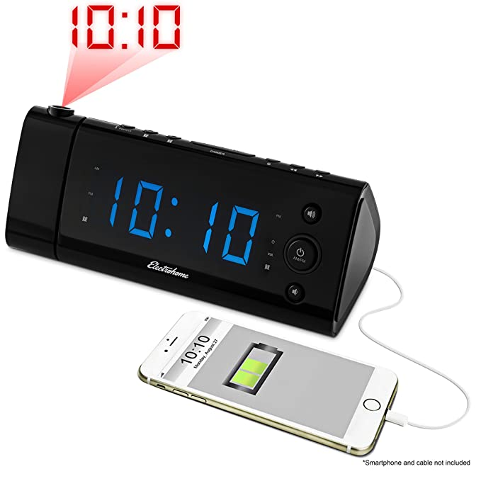 Electrohome USB Charging Alarm Clock - The High-Tech and Advanced