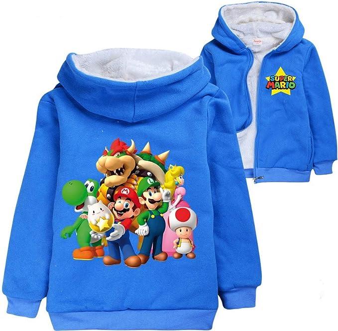 Super Mario Felpe Con Cappuccio Bambini Felpa Ragazze Ragazzi Felpe Con Cappuccio Harajuku Streetwear Cartoon Bambini Vestiti