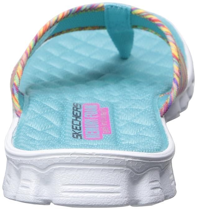c0e39b170 Amazon.com | Skechers Sport Women's Ez Flex Cool Hang Loose Flip-Flop |  Flats