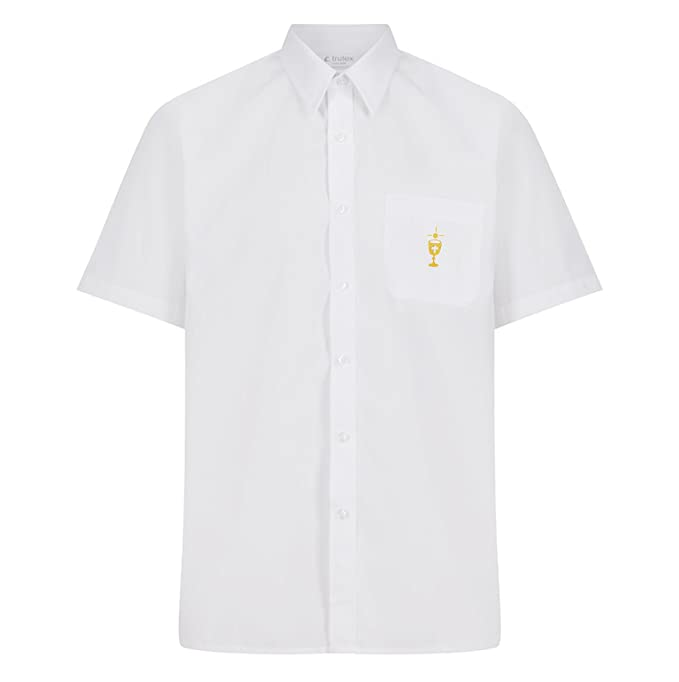 Parkers Official First Holy Communion Shirt Long Sleeve and Short Sleeve:  Amazon.co.uk: Clothing