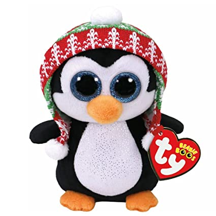 c98fc9b76c8 Beanie Boos - Penelope Penguin Christmas Limited  Amazon.ca  Toys   Games