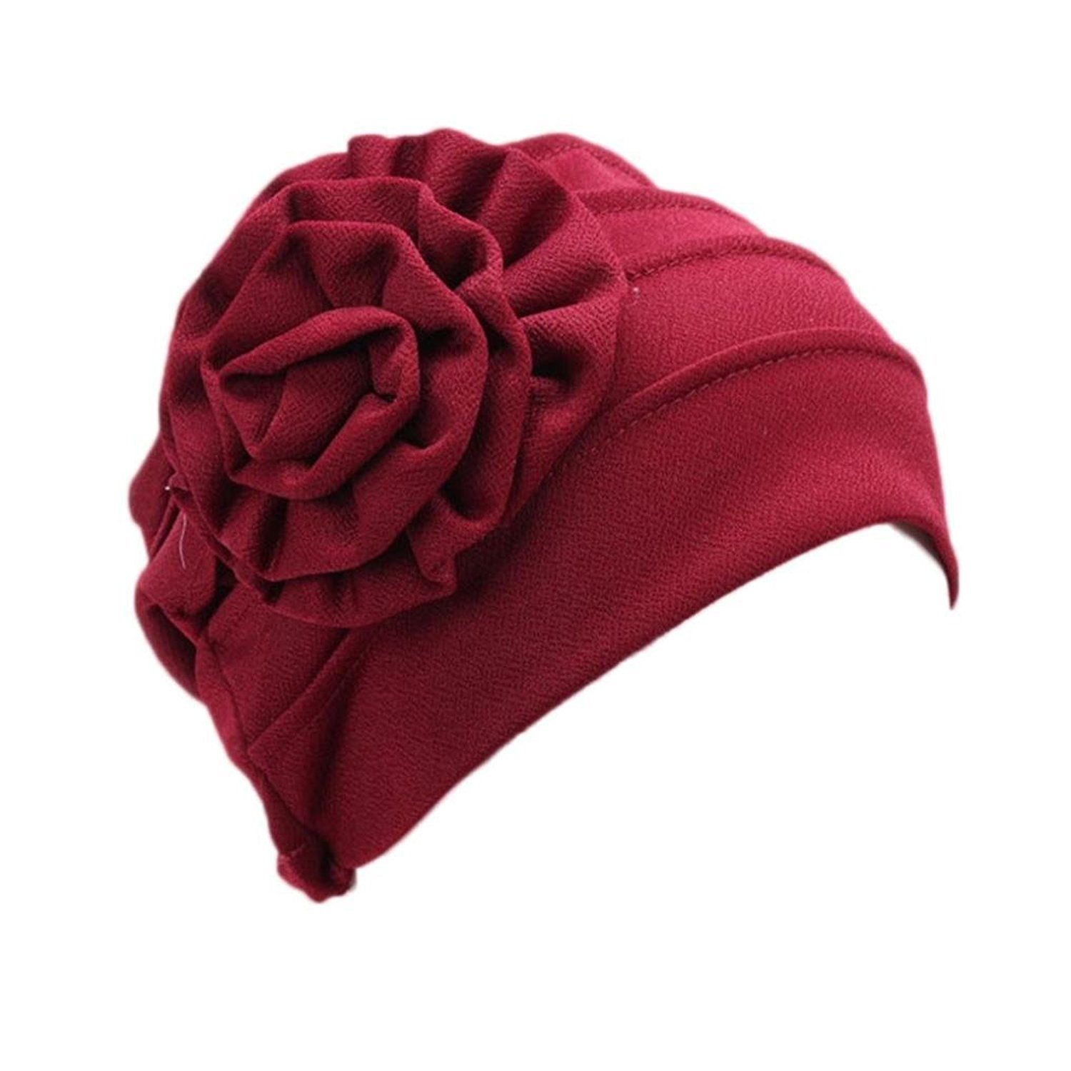 Tonsee® Women Stretch Turban Hat Chemo Cap Hair Loss Head Scarf Wrap Hijab Cap Tonsee Hat