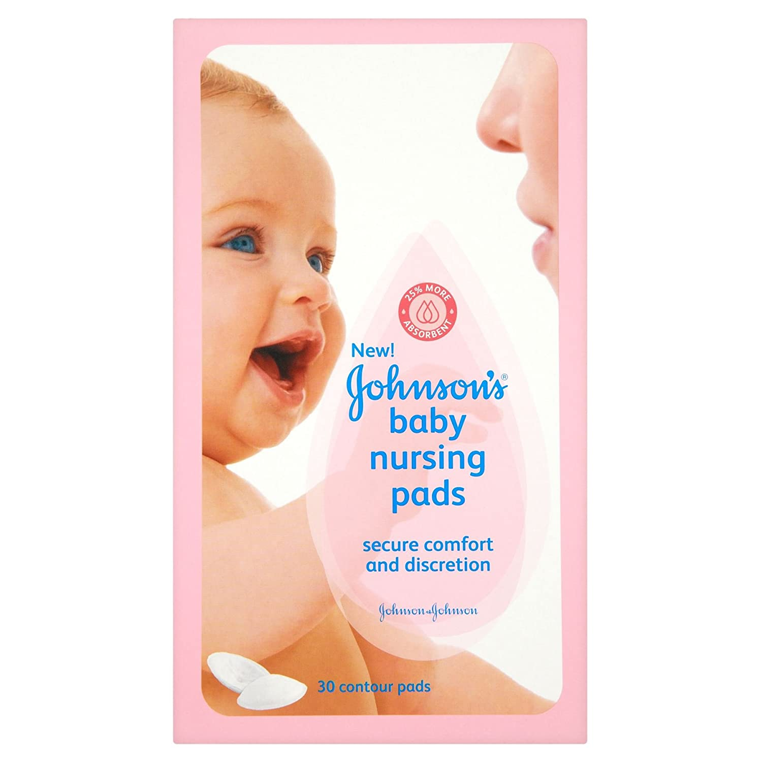 JOHNSONS NURSING PADS 30S Johnson's