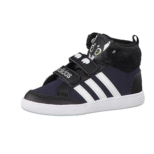 adidas Hoops Animal CMF Mid Inf, Zapatos de bebé (1 10 Meses