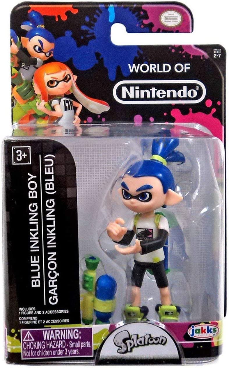 Splatoon World of Nintendo Series 13 Blue Inkling Boy Figura de ...