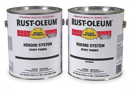 Rust-oleum Gray Urethane Activator and Finish Kit, High Gloss Finish