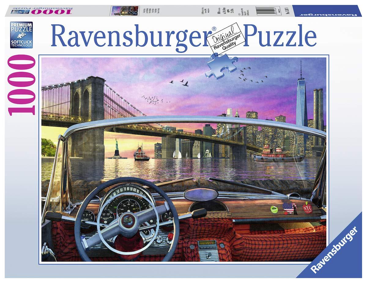 【即発送可能】 Ravensburger 大人用 ブルックリンブリッジ 15267 1000ピースパズル 大人用 すべてのピースはユニーク 15267、ソフトクリック技術でピースがぴったりと合う Ravensburger B07MX581SP, びんご屋:607890a5 --- a0267596.xsph.ru