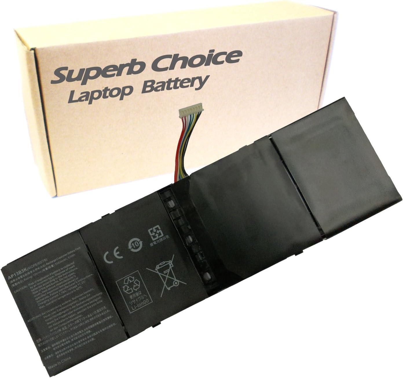 Superb Choice Battery Compatible with ACER Aspire ES1-511 ES1-512-C1PW M5-583P-9688 R3-471TG