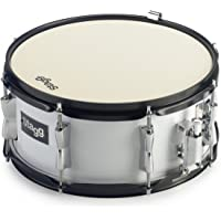 Stagg 22087 13 x 6-Inch Marching Snare Drum - White