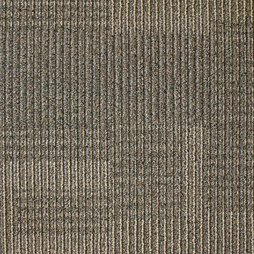 19.7 Inch Carpet Tile - Park Avenue Coffee 19.7 in. x 19.7 in. Carpet Tile (20 PC/Case - 54 sq. ft./Case)