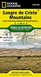 Sangre de Cristo Mountains [Great Sand Dunes National Park and Preserve] (National Geographic Trails Illustrated Map)