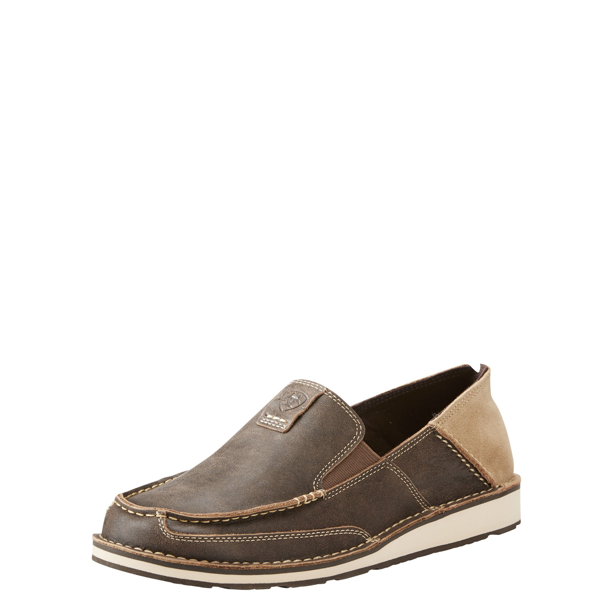 Ariat Men's Cruiser Slip-on Shoe, Vintage Bomber, 8.5 EE US