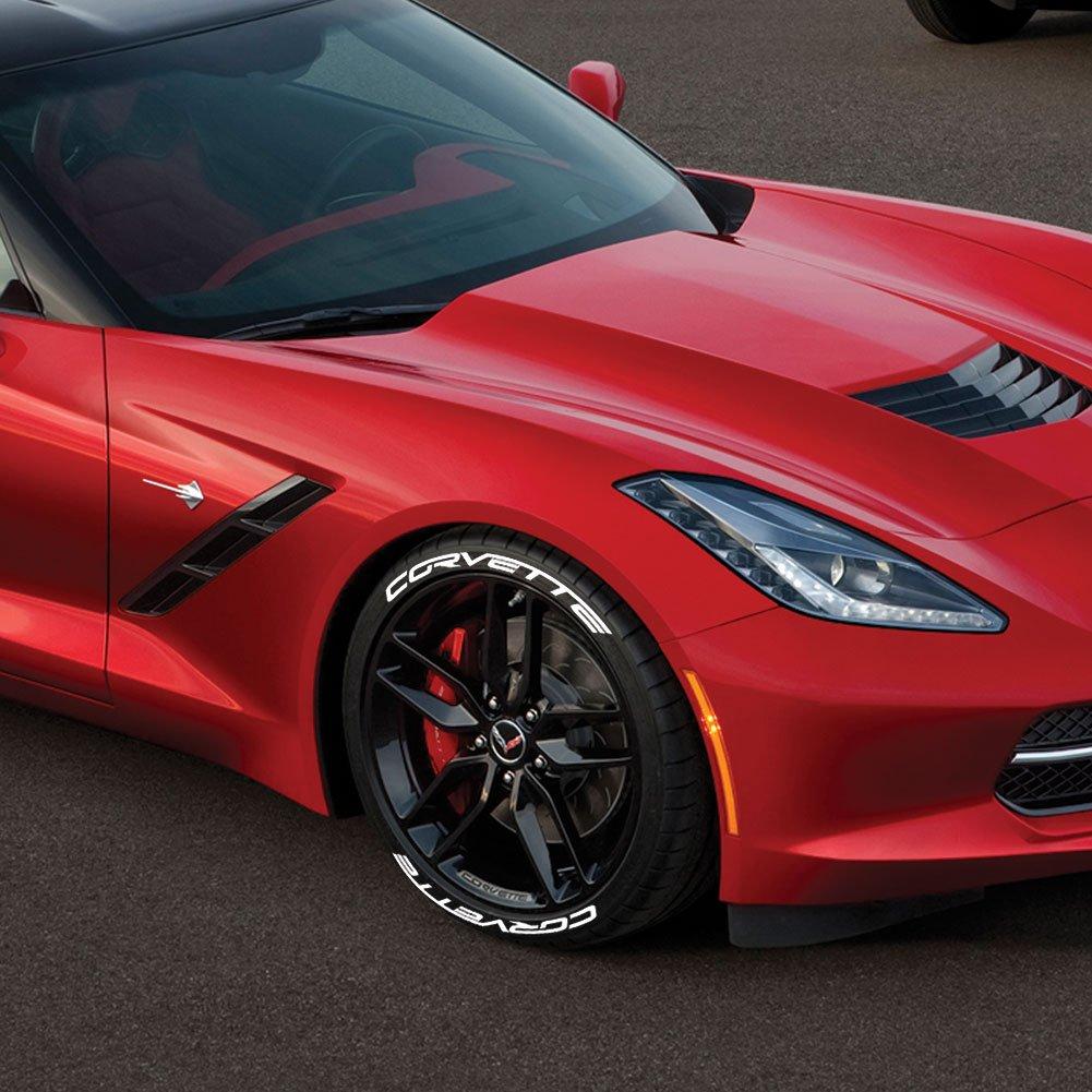 Permanent 1 West Coast Corvette 25114415 Z06 C7 Corvette Tire Stickers