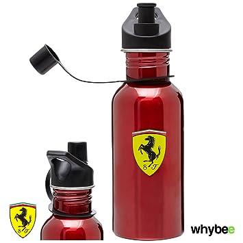 Scuderia Ferrari F1 equipo bebidas botella termo (rojo) 500 ml acero inoxidable